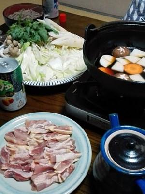 会津の地鶏鍋