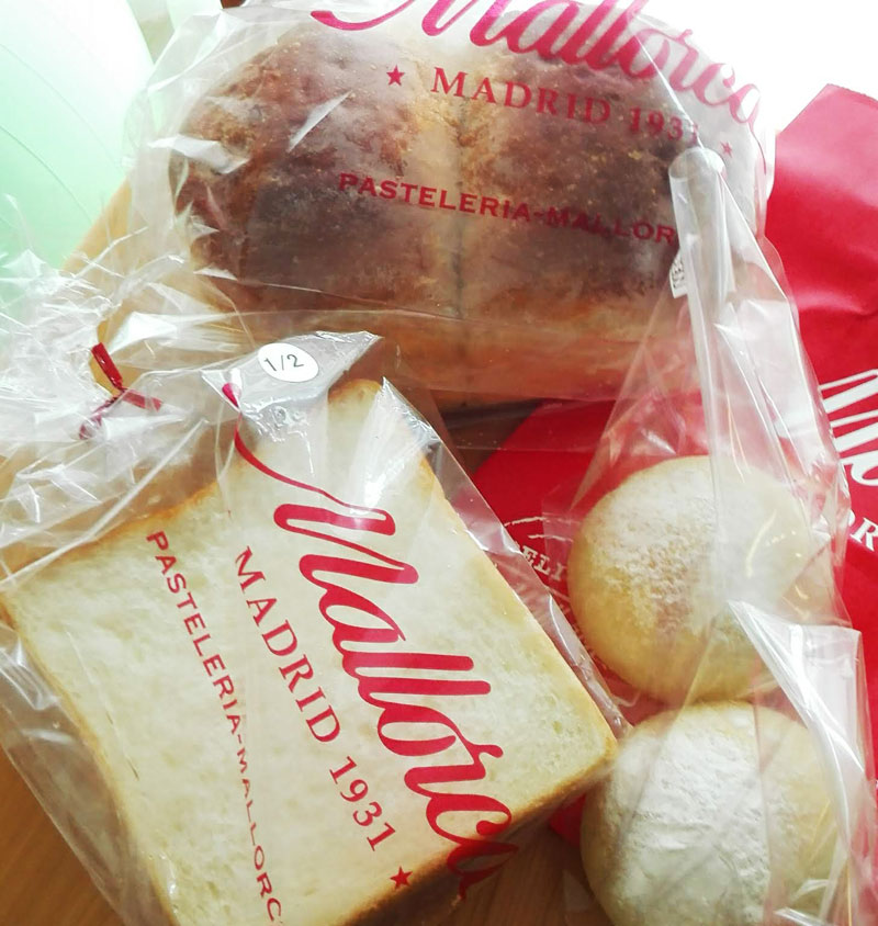 Mallorcaのパン